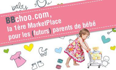 Visueel van project BBchoo, la 1ère MarketPlace des (futurs) parents de bébés