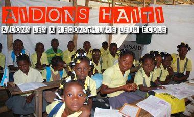 Visuel du projet Reconstruire une école en Haïti