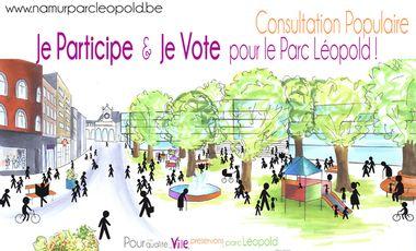 Visuel du projet Préservons le parc Léopold à Namur