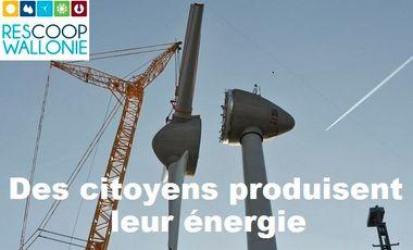 Project visual Des citoyens produisent leur énergie