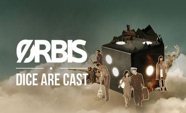 """Visueel van project ORBIS - 1er Album """"Dice Are Cast"""""""