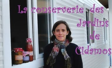 Visuel du projet La conserverie des Jardins de Cidamos
