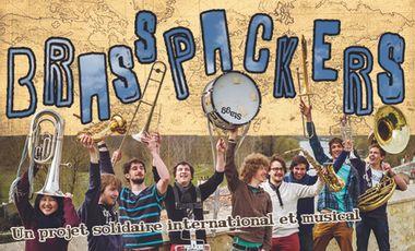 Visuel du projet Brasspackers, un projet solidaire international et musical