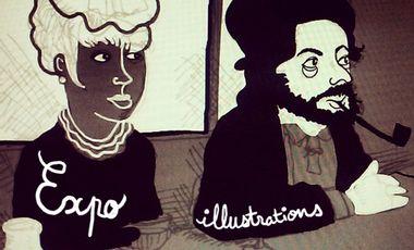 Visueel van project Exposition d'illustrations !