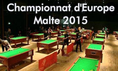 Visueel van project Championnat d'Europe billard anglais 8 pool