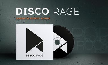 Visueel van project DISCO RAGE - PREMIER ALBUM