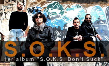 "Visueel van project S.O.K.S. - 1er album ""S.O.K.S Don't Suck"""