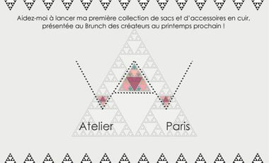 Visueel van project AW atelier Paris : lancement et présentation d'une première collection