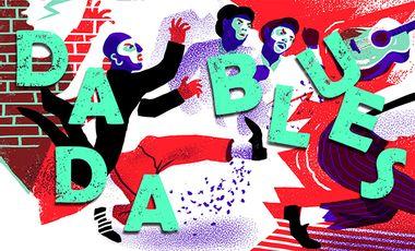 Visueel van project Dada blues : un roman graphique par 2 jeunes talents