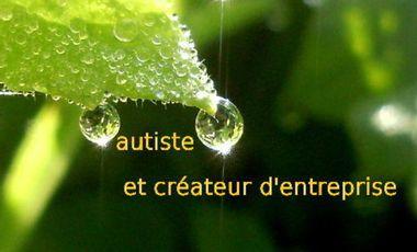 Visueel van project autiste et créateur d'entreprise