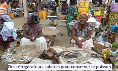 Visuel du projet Des réfrigérateurs solaires pour le Bénin