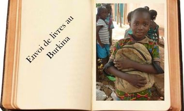 Visueel van project Envoi de livres à une école du Burkina Faso