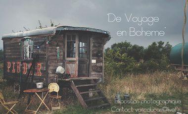 """Visuel du projet """"De Voyage en Bohème"""" - Première exposition Photo"""