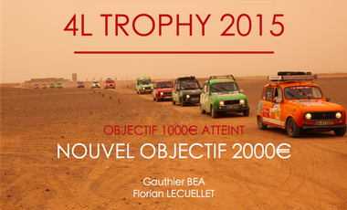 Project visual 4L Trophy : Piston in the Sand