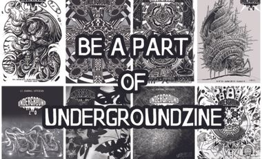 Project visual BE A PART OF UNDERGROUNDZINE