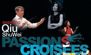 """Visuel du projet Qiu Shuwei / Récital de musiques Françaises et Chinoises...Autour des """"Passions Croisées"""""""