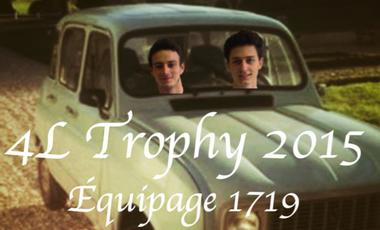 Visuel du projet 4L Trophy de Maxime et Thibaut