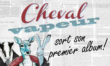 Visueel van project Cheval vapeur sort son premier album!