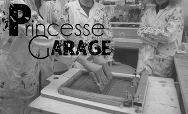 Visueel van project Princesse Garage Sérigraphie