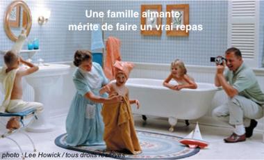 Visueel van project Une famille aimante mérite de faire un vrai repas (texte de Julie Aminthe)