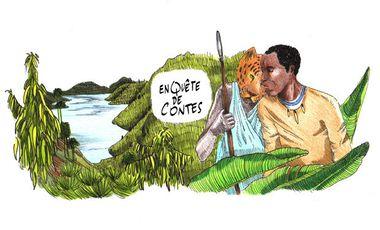 Visueel van project En quête de contes