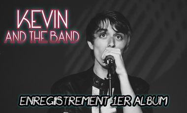 Visuel du projet Kevin & The Band : Enregistrement 1er album