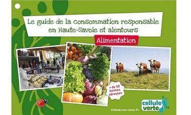 Project visual Le guide de la consommation responsable en Haute-Savoie et alentours – Alimentation