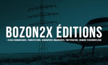 Project visual BOZON2X EDITIONS