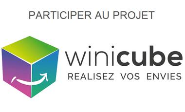 Visueel van project WINICUBE