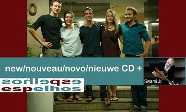 Visueel van project  espelhos: new/nouveau CD + Swami Jr