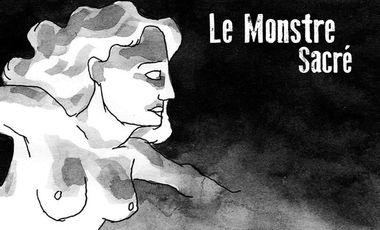 Project visual Le Monstre Sacré