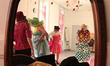 """Visueel van project Projet artistique rêvolutionnaire """"Burlesques Pin-up"""""""