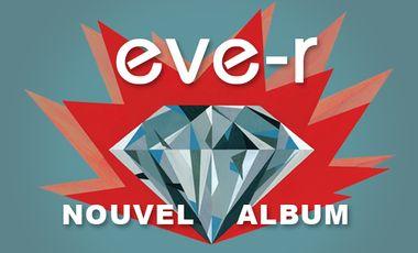 Visuel du projet EVE-R nouvel album