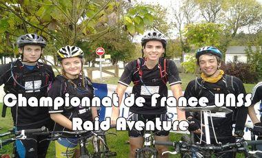 Visuel du projet Championnat de France UNSS Raid Aventure