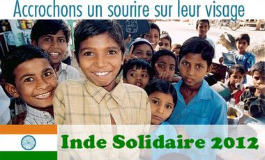 Visuel du projet Solidarité Internationale en Inde