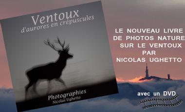 """Project visual Projet livre et DVD """" Ventoux…d'aurores en crépuscules """""""