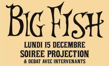 Visuel du projet Soirée Big Fish de Tim Burton
