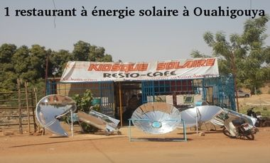 Visueel van project 1 restaurant solaire à Ouahigouya, Burkina Faso