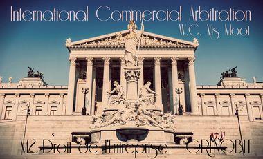 Visuel du projet Concours d'Arbitrage International