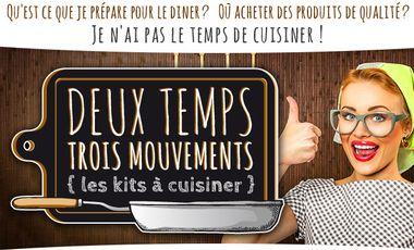 Visueel van project Deux temps Trois Mouvements {les kits à cuisiner}