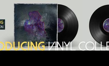 Visueel van project VINYL COLLECTION : Première compilation vinyle du projet NSProducing