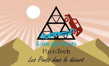 Visuel du projet Les Ponts dans le désert ! - 4L Trophy