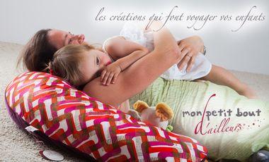 Project visual Mon Petit Bout d'Ailleurs... Les créations qui font voyager bébés et mamans!