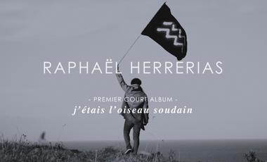 Visueel van project Raphaël Herrerias sort son premier court-album.