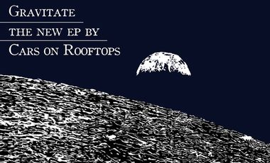 Visueel van project Gravitate - New EP by Cars on Rooftops