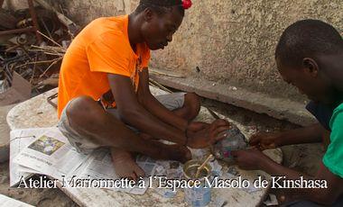 Visueel van project Atelier Marionnette à l'Espace Masolo de Kinshasa