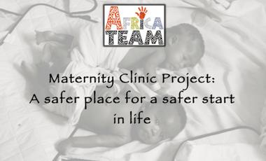 Project visual Reconstruction du poste de santé/maternité de Ndiganioa - Maternity Clinic Project: a safer place for a safer start in life