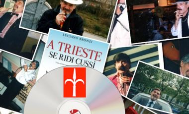 """Visueel van project """"LA MARISA, EL TRANVIER E 'CIANO!"""" Best of Luciano Bronzi CD"""