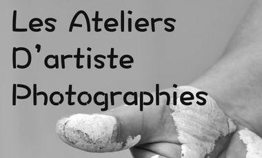 """Visuel du projet """"Les Ateliers d'Artiste""""   Un LIVRE de Photographies N&B accompagnées de Poésies"""