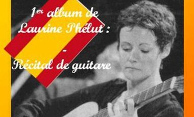 Project visual 1er disque Laurine Phélut - Récital de guitare classique